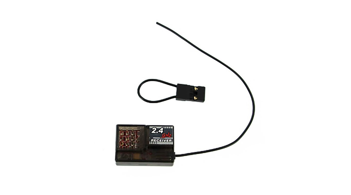 Image for 2.4GHz Receiver (RED PCB): Rockslide RS10 from HorizonHobby