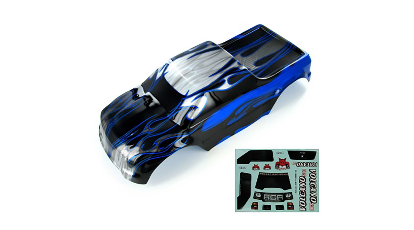 Image for 1/10 Painted Truck Body, Blue: Volcano EPX/PRO from HorizonHobby