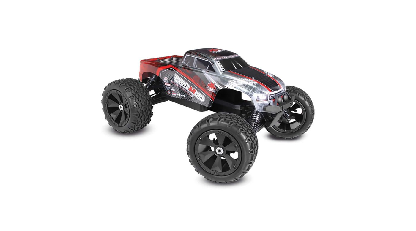 Image for 1/8 Terremoto V2 4WD Monster Truck Brushless with Dual LiPo RTR, Red from HorizonHobby