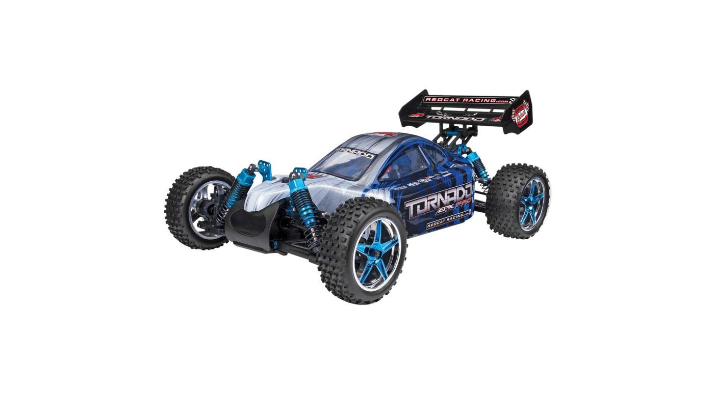 Image for 1/10 Tornado EPX PRO 4WD Buggy Brushless RTR, Blue/Silver from HorizonHobby