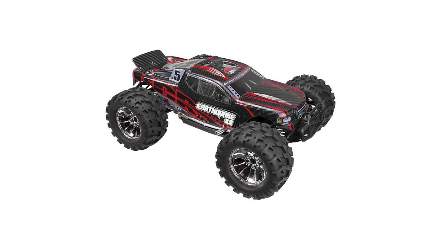 Image for 1/8 Earthquake 3.5 4WD Nitro Monster Truck RTR, Red from HorizonHobby