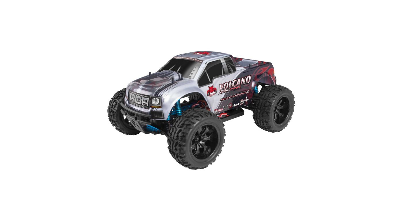 Image for 1/10 Volcano EPX PRO 4WD Monster Truck Brushless RTR, Silver from HorizonHobby