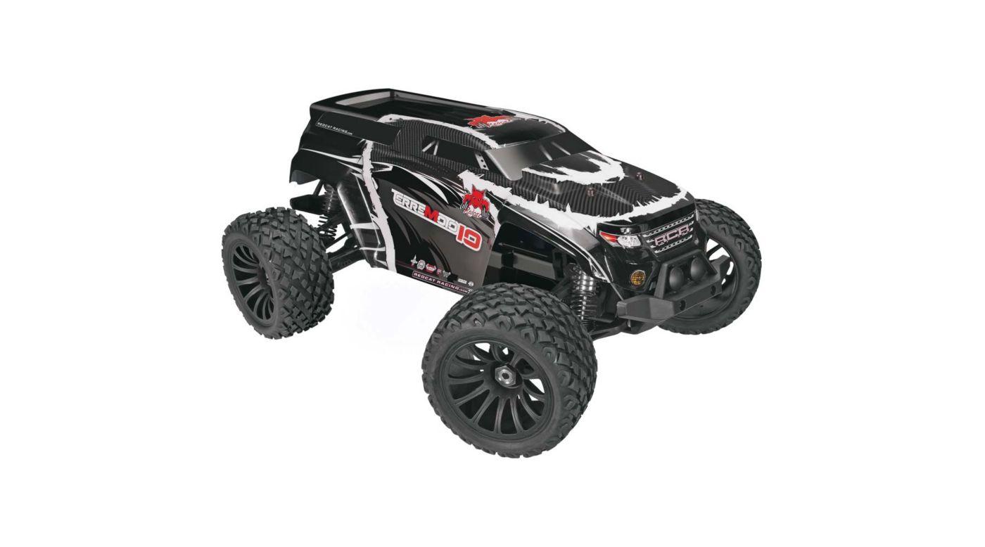 Image for 1/10 Terremoto -10 V2 4WD Brushless SUV RTR, Black from HorizonHobby