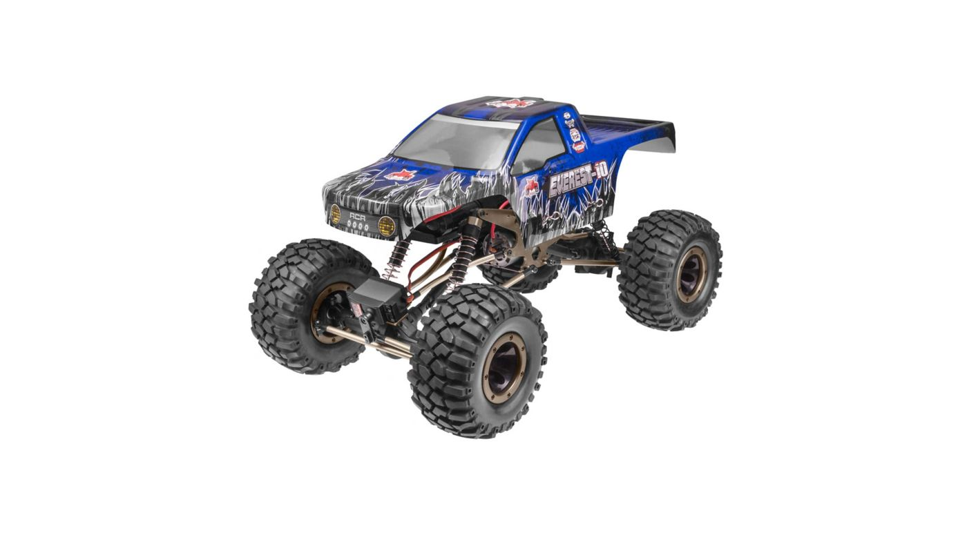 Image for 1/10 Everest-10 4WD Rock Crawler Brushed RTR, Blue from HorizonHobby
