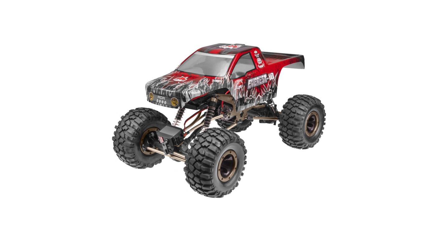 Image for 1/10 Everest-10 4WD Rock Crawler Brushed RTR, Red from HorizonHobby