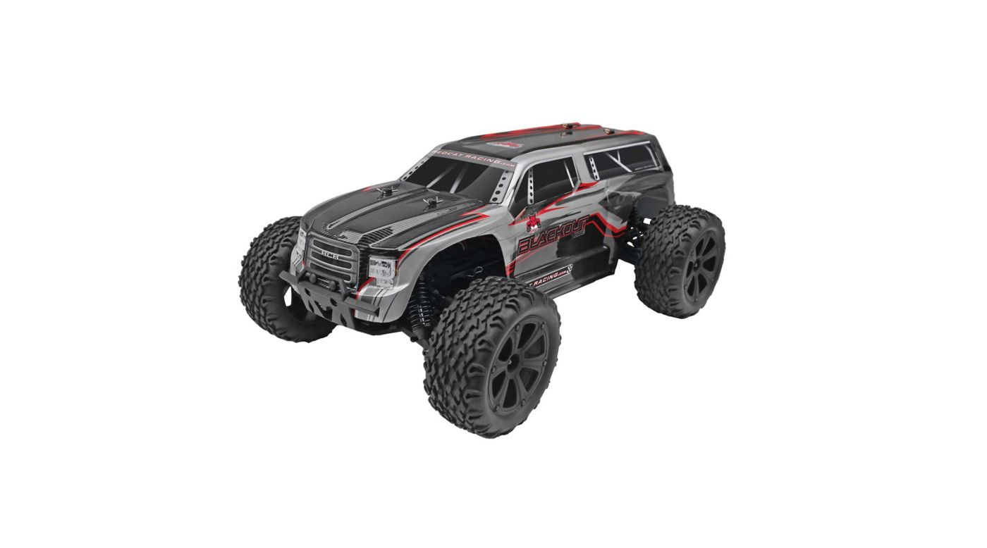 Image for 1/10 Blackout XTE 4WD Monster SUV Brushed RTR, Silver from HorizonHobby
