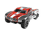 Redcat Racing - 1/10 Blackout SC 4WD Short Course Truck Brushed RTR, Red