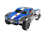 Redcat Racing - 1/10 Blackout SC 4WD Short Course Truck Brushed RTR, Blue