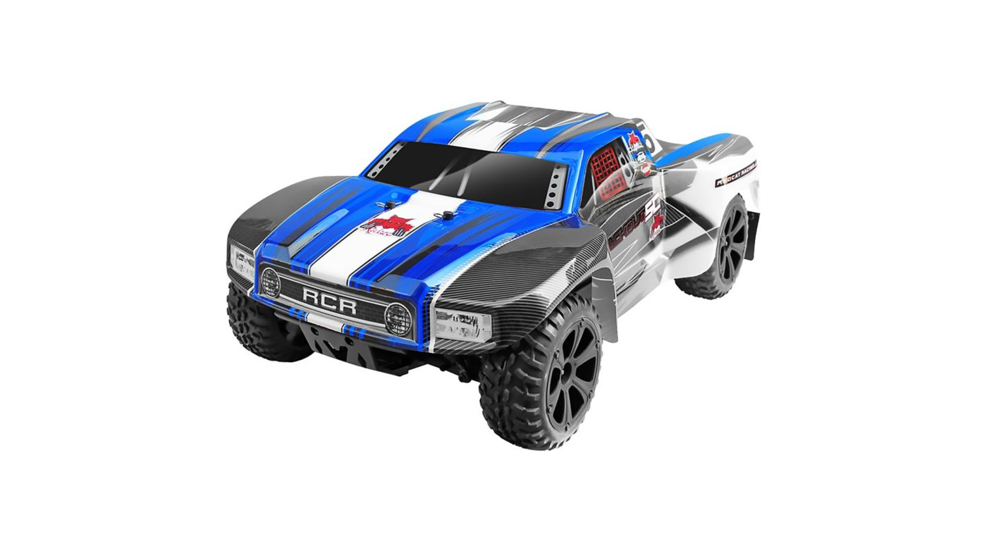 Image for 1/10 Blackout SC 4WD Brushed Short Course Truck RTR, Blue from HorizonHobby