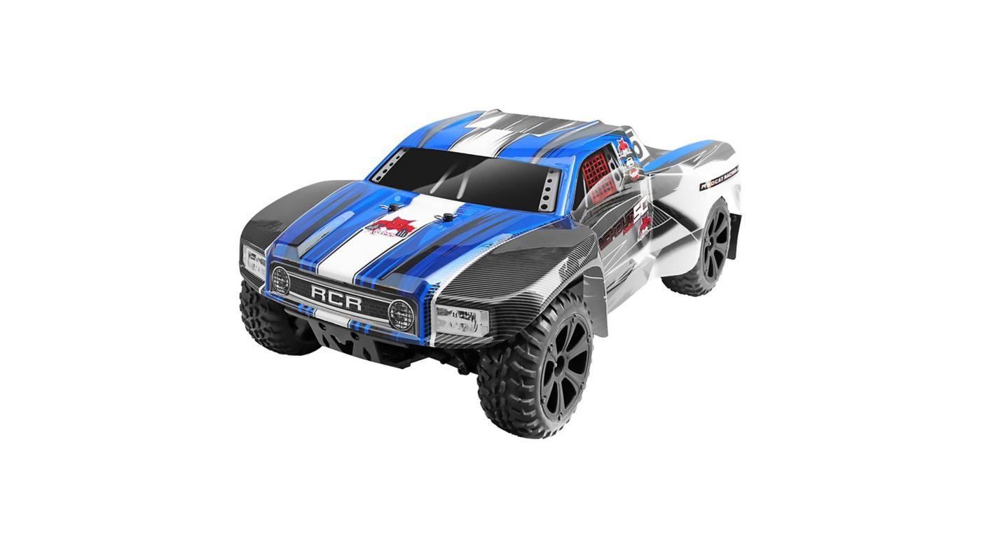 Image for 1/10 Blackout SC Pro 4WD Short Course Truck Brushless RTR, Blue from HorizonHobby