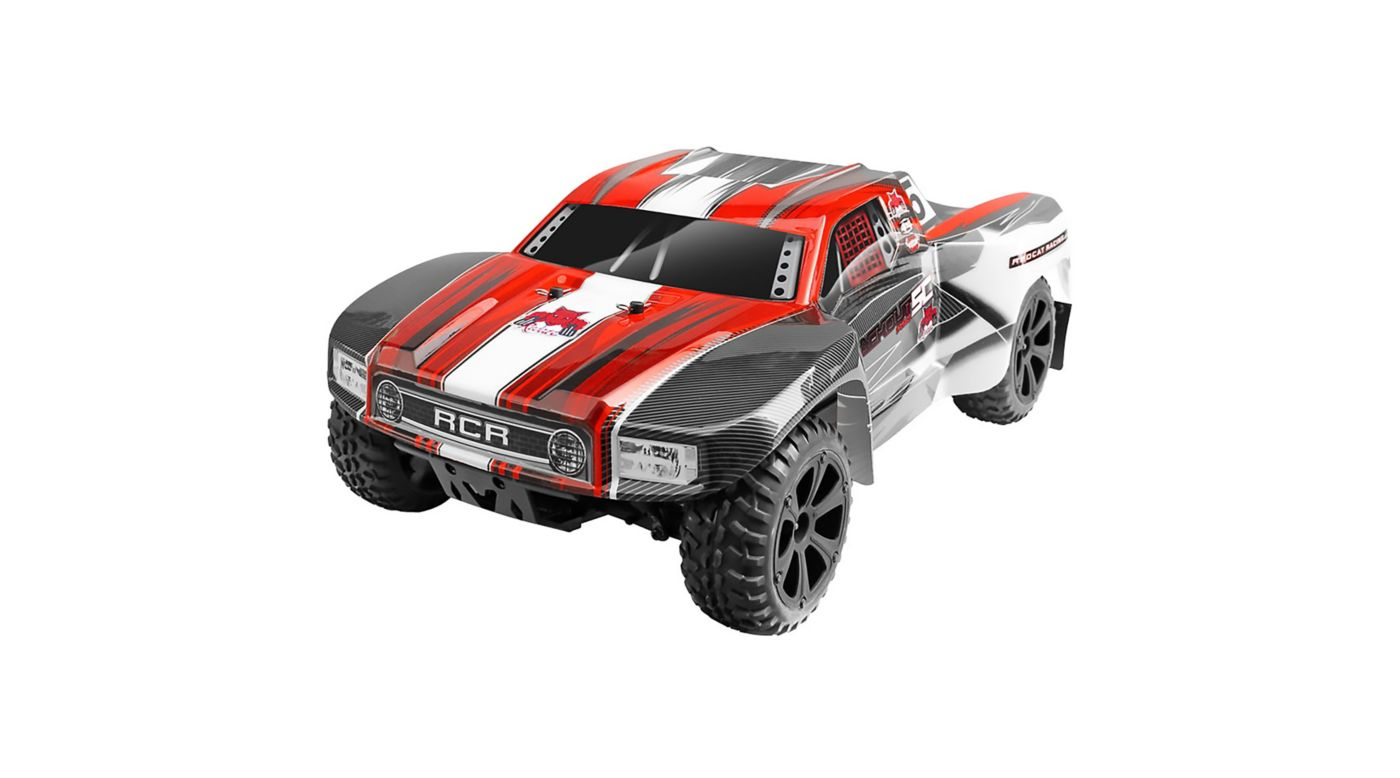 Image for 1/10 Blackout SC Pro 4WD Brushless Short Course Truck RTR, Red from HorizonHobby