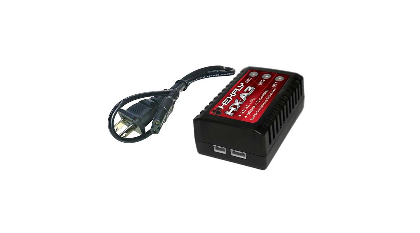 Image for HX-A3 LIPO Charger: Blackout, Terreoto, Volcano, TRMT10E from HorizonHobby