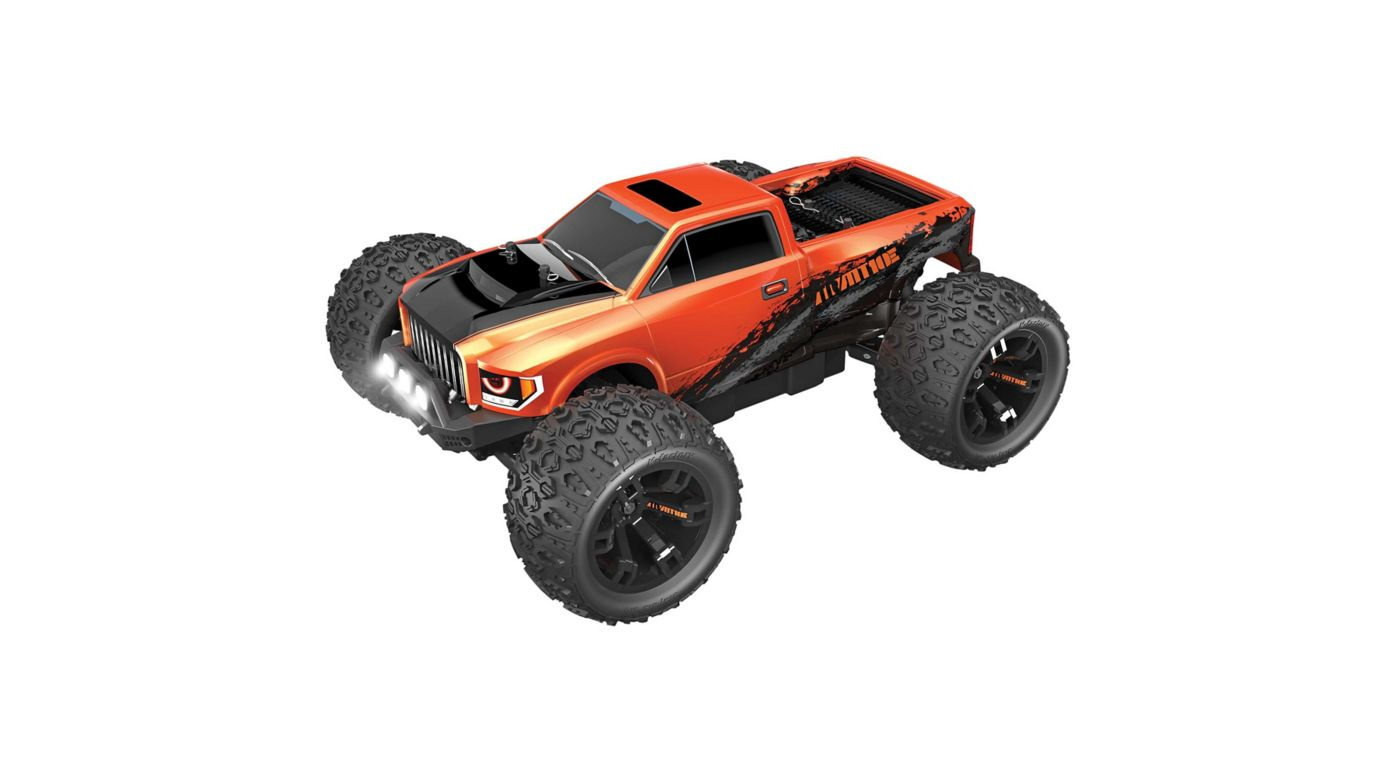 Image for 1/10 Team RedCat MT10E 4WD Monster Truck Brushless RTR, Orange from HorizonHobby