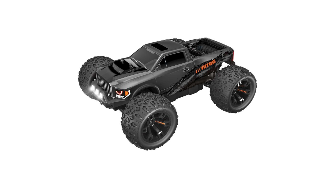 Image for 1/10 Team RedCat MT10E 4WD Monster Truck Brushless RTR, Gunmetal from HorizonHobby