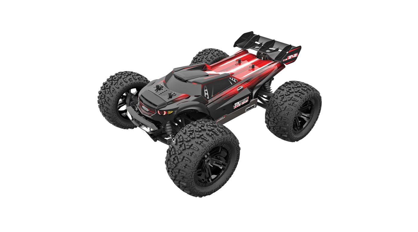 Image for 1/8 Team RedCat MT8E BE6S 4WD Monster Truck Brushless RTR, Red/Black, Requires battery and charger from HorizonHobby