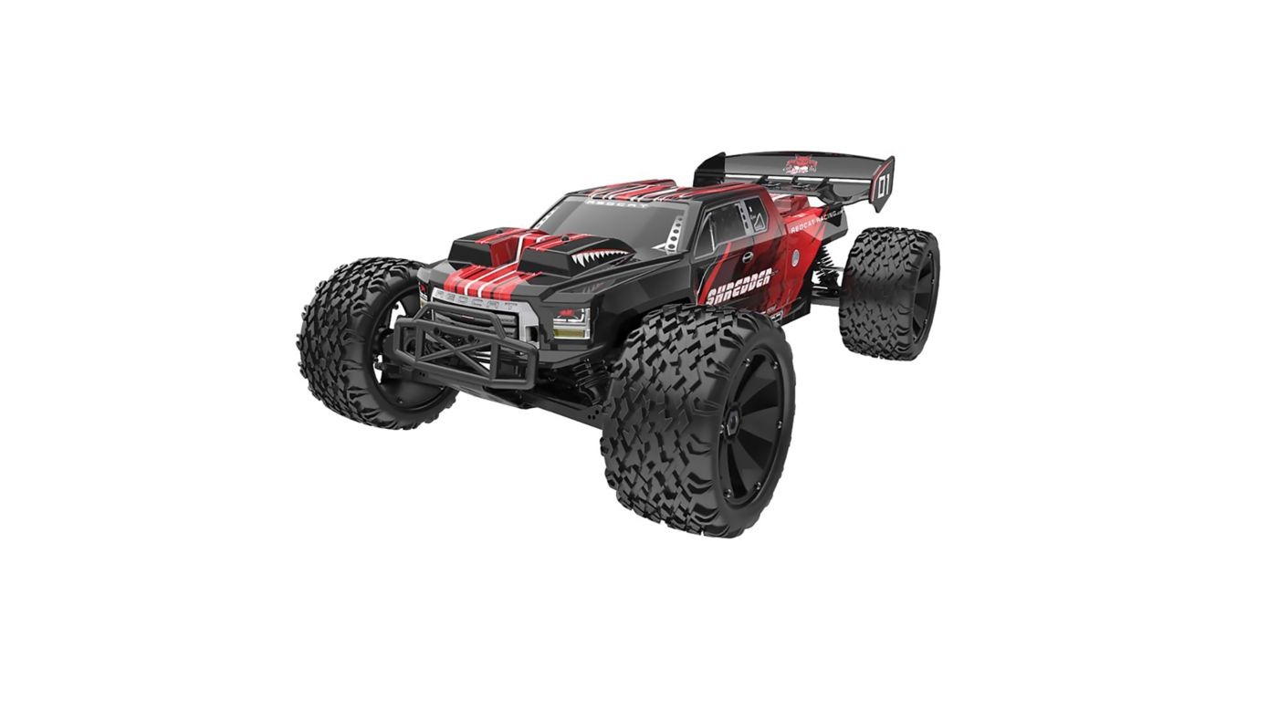 Image for 1/6 Shredder 4WD Truck Brushless RTR, Red, (Requires Battery and Charger) from HorizonHobby