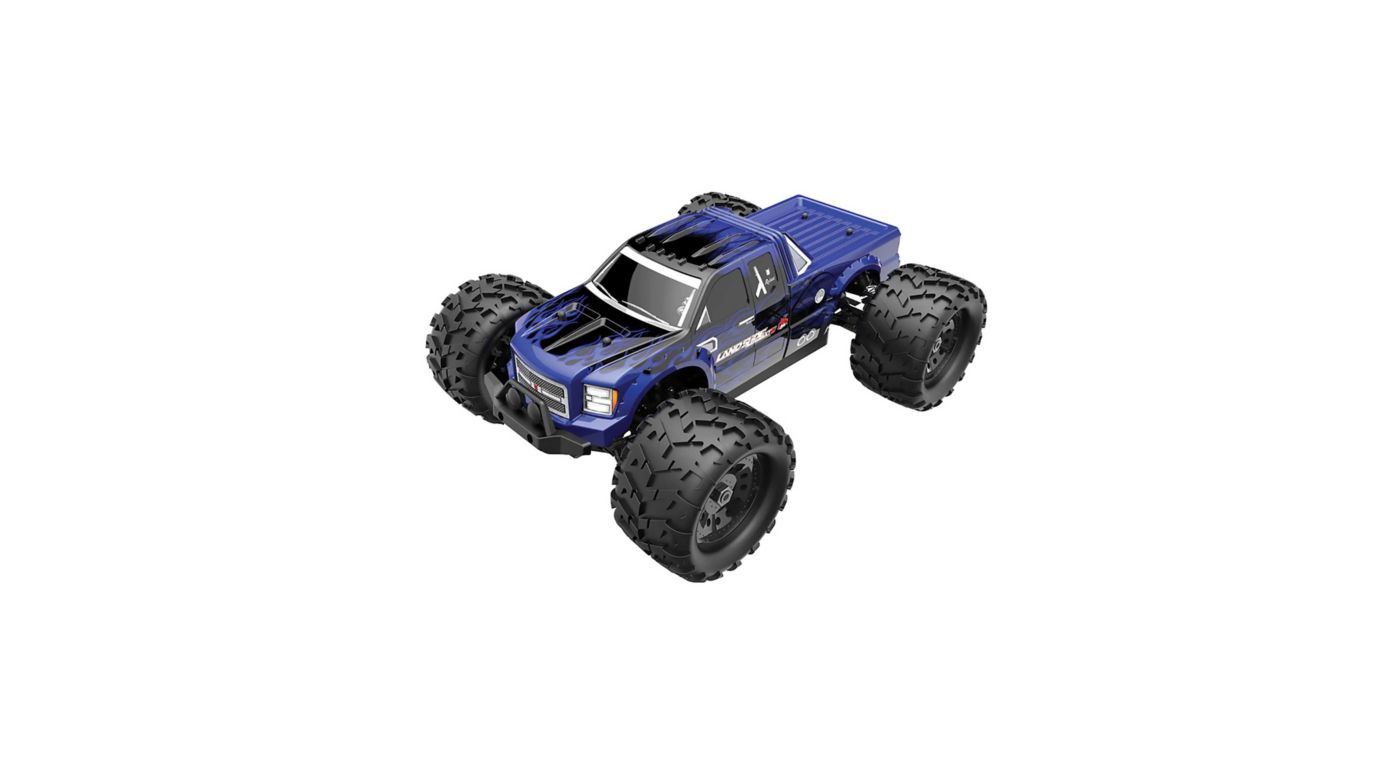 Image for 1/8 Landslide XTe 4WD Monster Truck Brushless RTR, Blue, (Requires Battery and Charger) from HorizonHobby