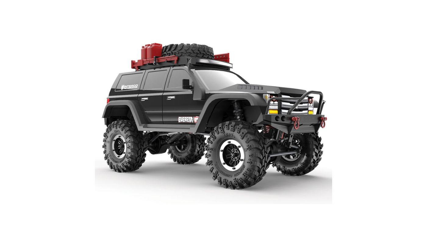 Image for 1/10 Everest Gen7 Pro 4WD Crawler Brushed RTR, Black from HorizonHobby