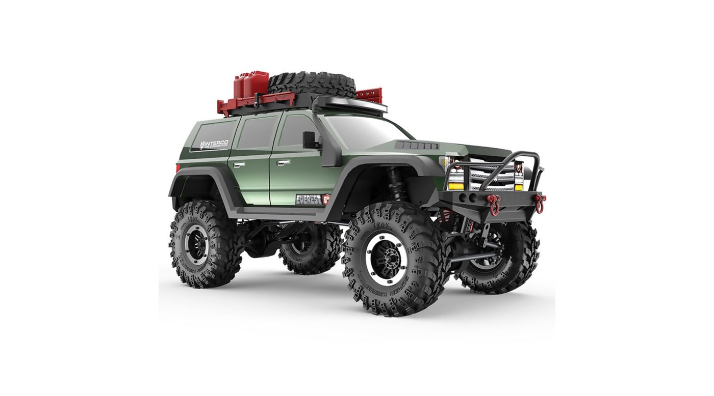 Image for 1/10 Everest Gen7 Pro 4WD Crawler Brushed RTR, Green from HorizonHobby