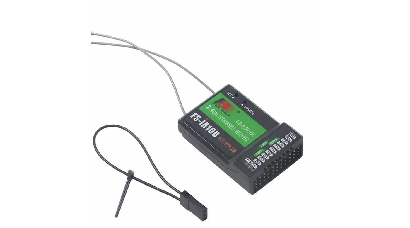 Image for FS-IA10B 2.4G 10 Channel Receiver from HorizonHobby
