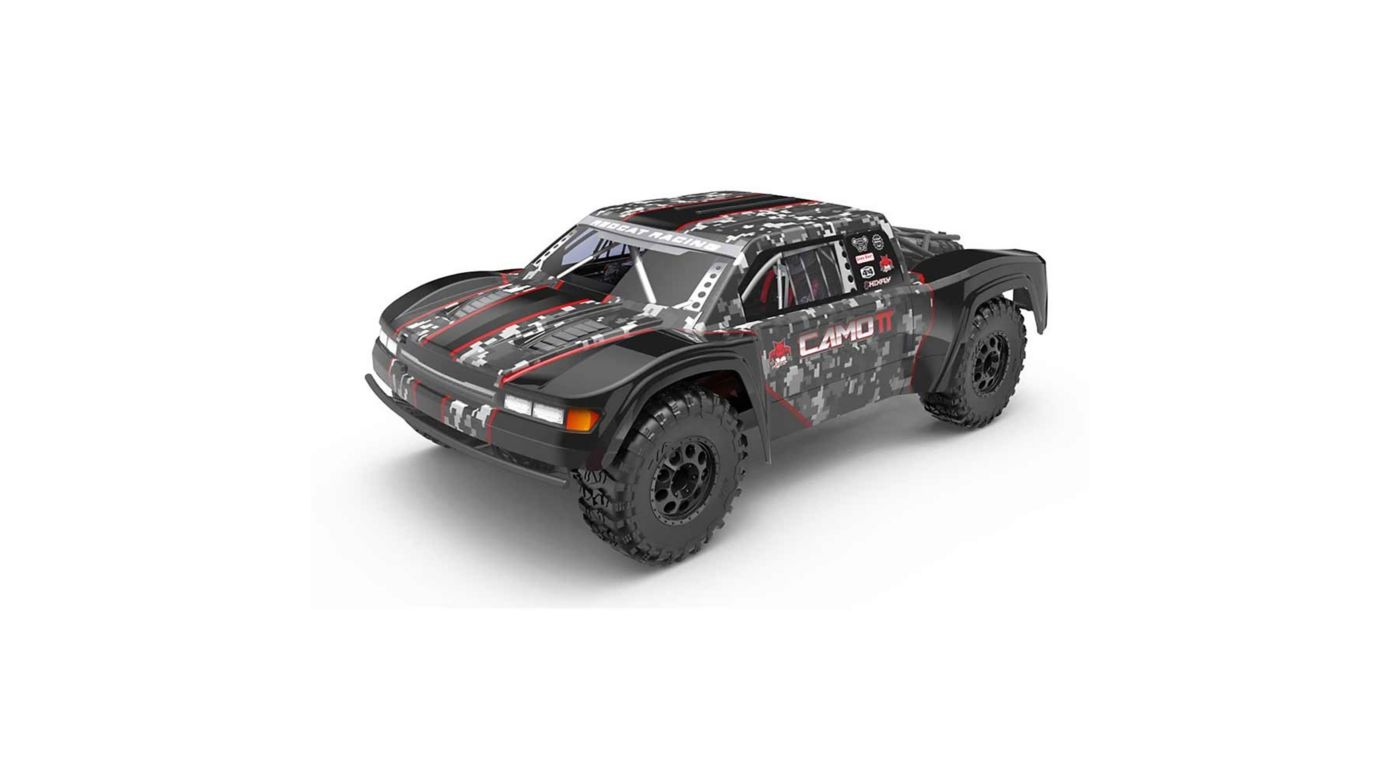 Image for 1/10 Scale Camo TT Pro Electric Trophy Truck from HorizonHobby