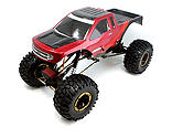 Redcat Racing - Everest-10 1/10 Rock Crawler Red/Black