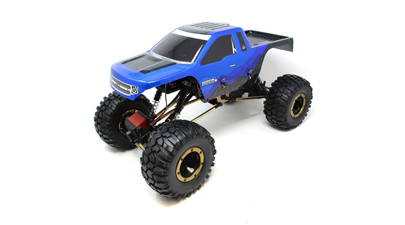 Image for Everest-10 1/10 Rock Crawler Brushed RTR, Blue/Black from HorizonHobby