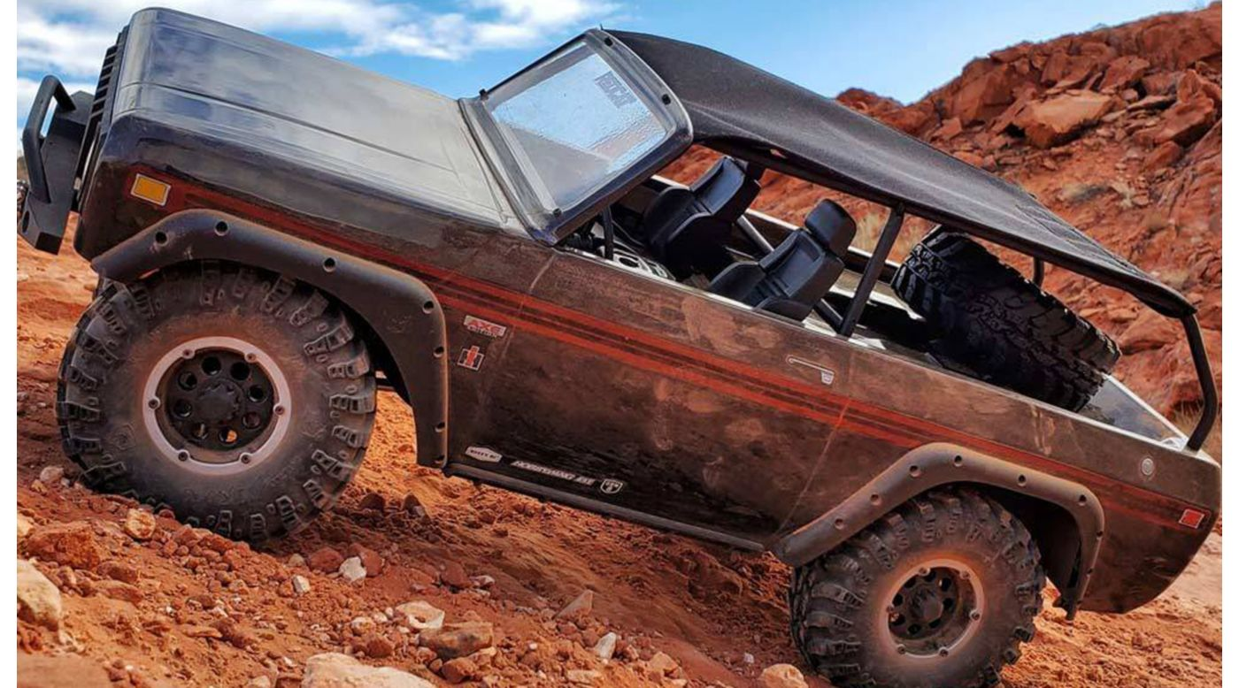 Image for 1/10 Gen8 Scout II 4WD Rock Crawler Brushed RTR, Axe Edition from HorizonHobby