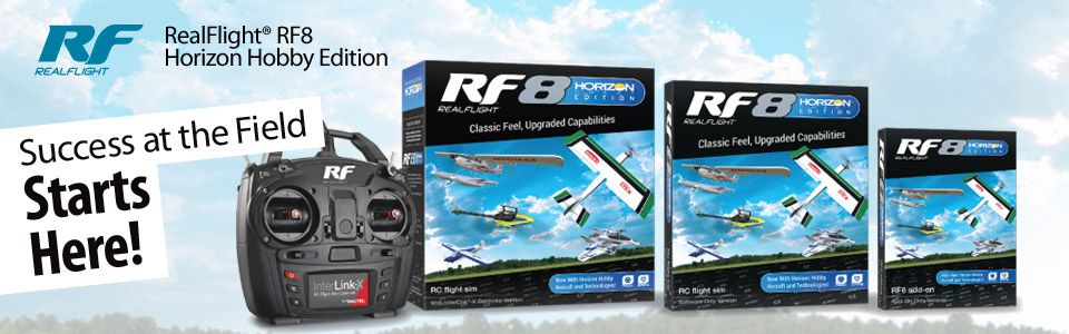 RealFlight® 8 Horizon Hobby® Edition Software Only