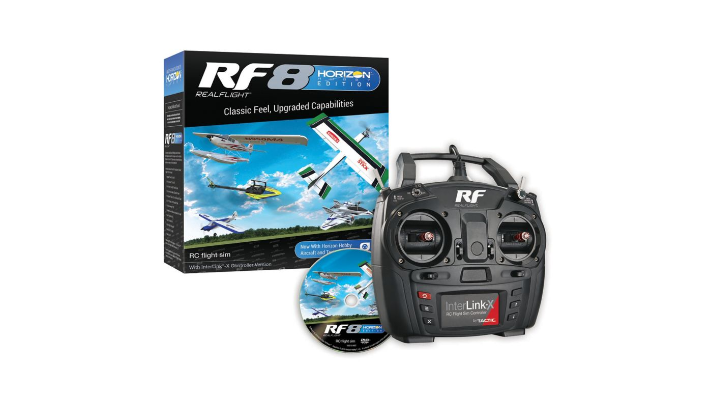 Image for RF8 Horizon Hobby Edition with InterLink-X Controller from Horizon Hobby