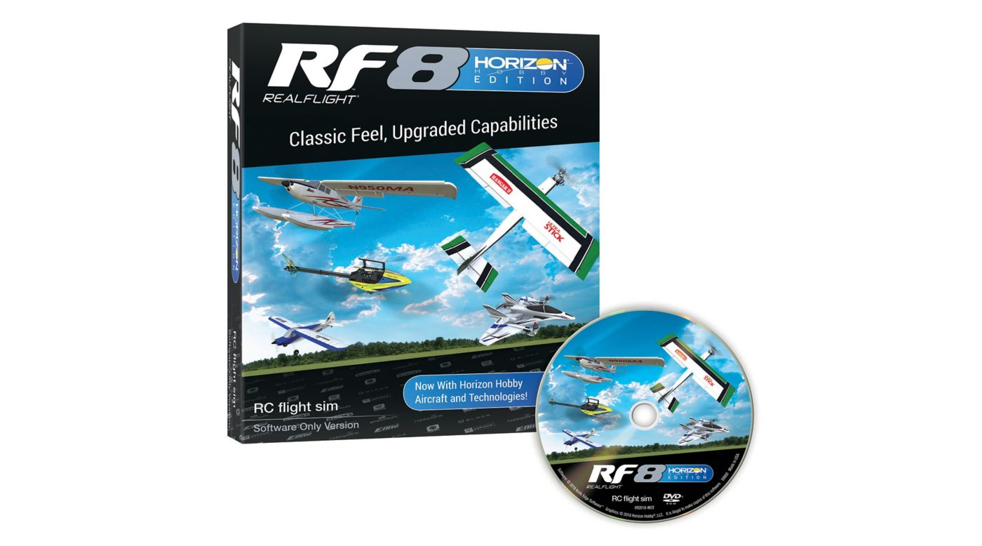 Grafik für RF8 Horizon Hobby Edition, Software Only in Horizon Hobby