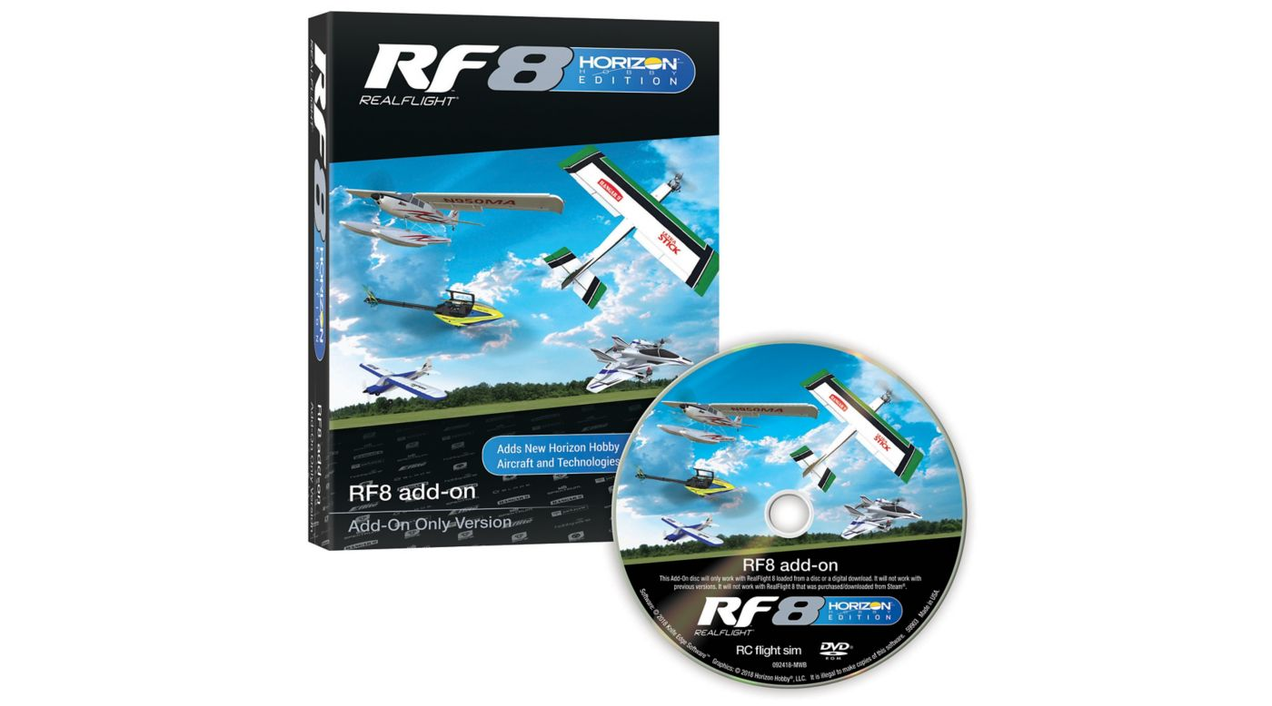 Grafik für RealFlight 8 HH Edition Add-On in Horizon Hobby