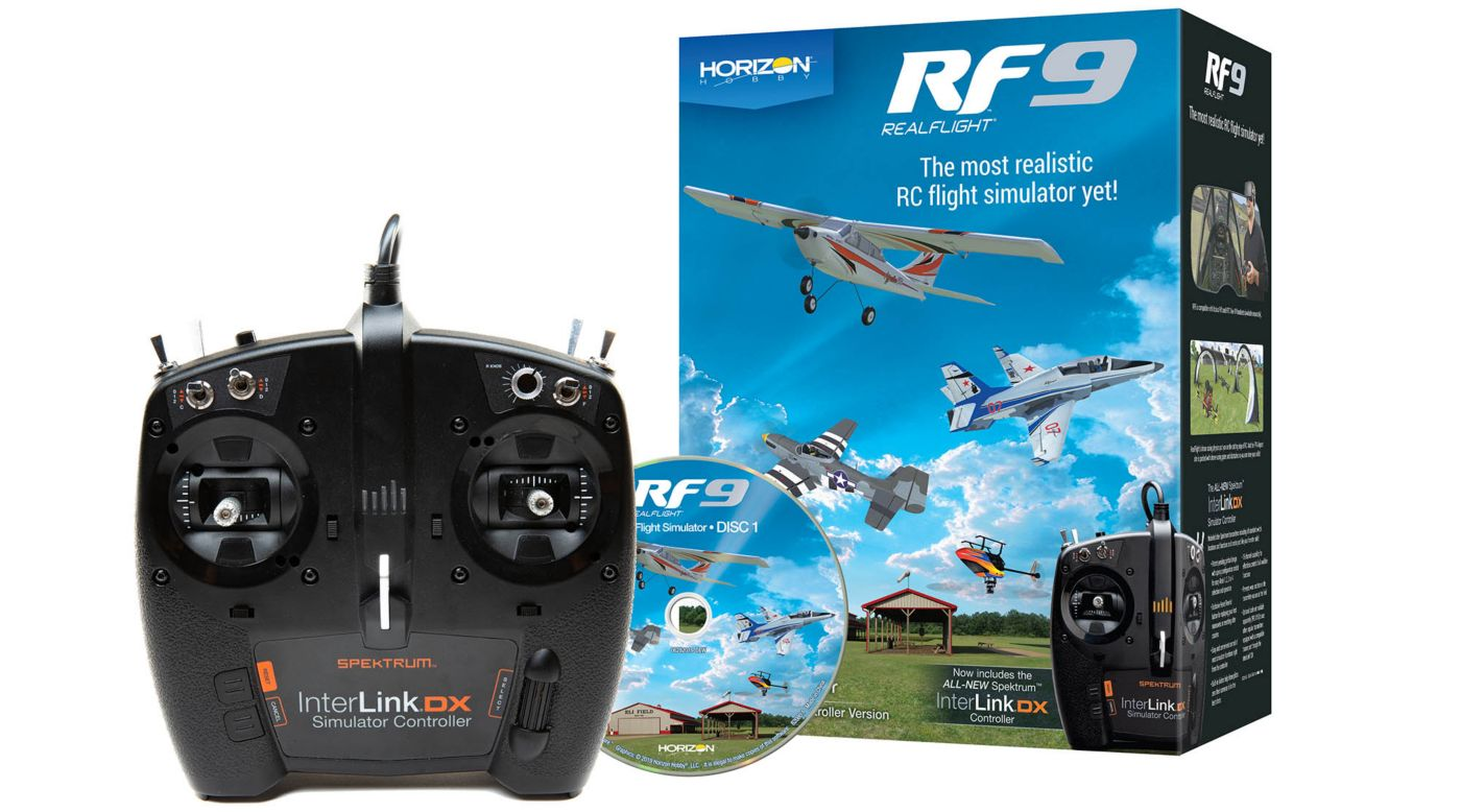 Image for RF9 Flight Simulator with Spektrum Controller from HorizonHobby