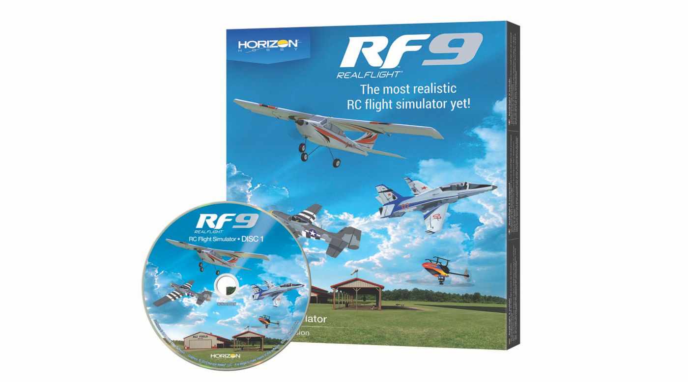 Image for RF9 Flight Simulator, Software Only from Horizon Hobby
