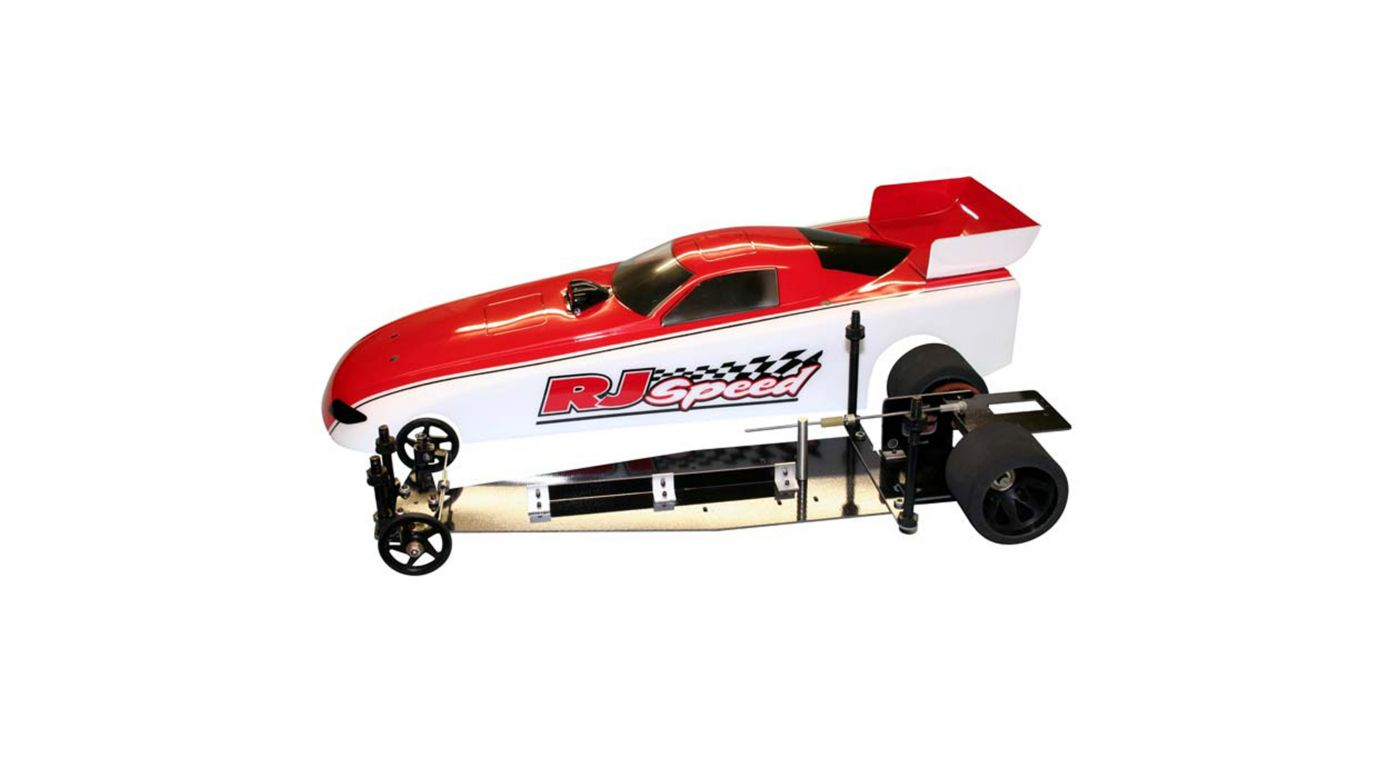 Image for 1/10 Electric Funny Car 2WD Dragster Kit, 13