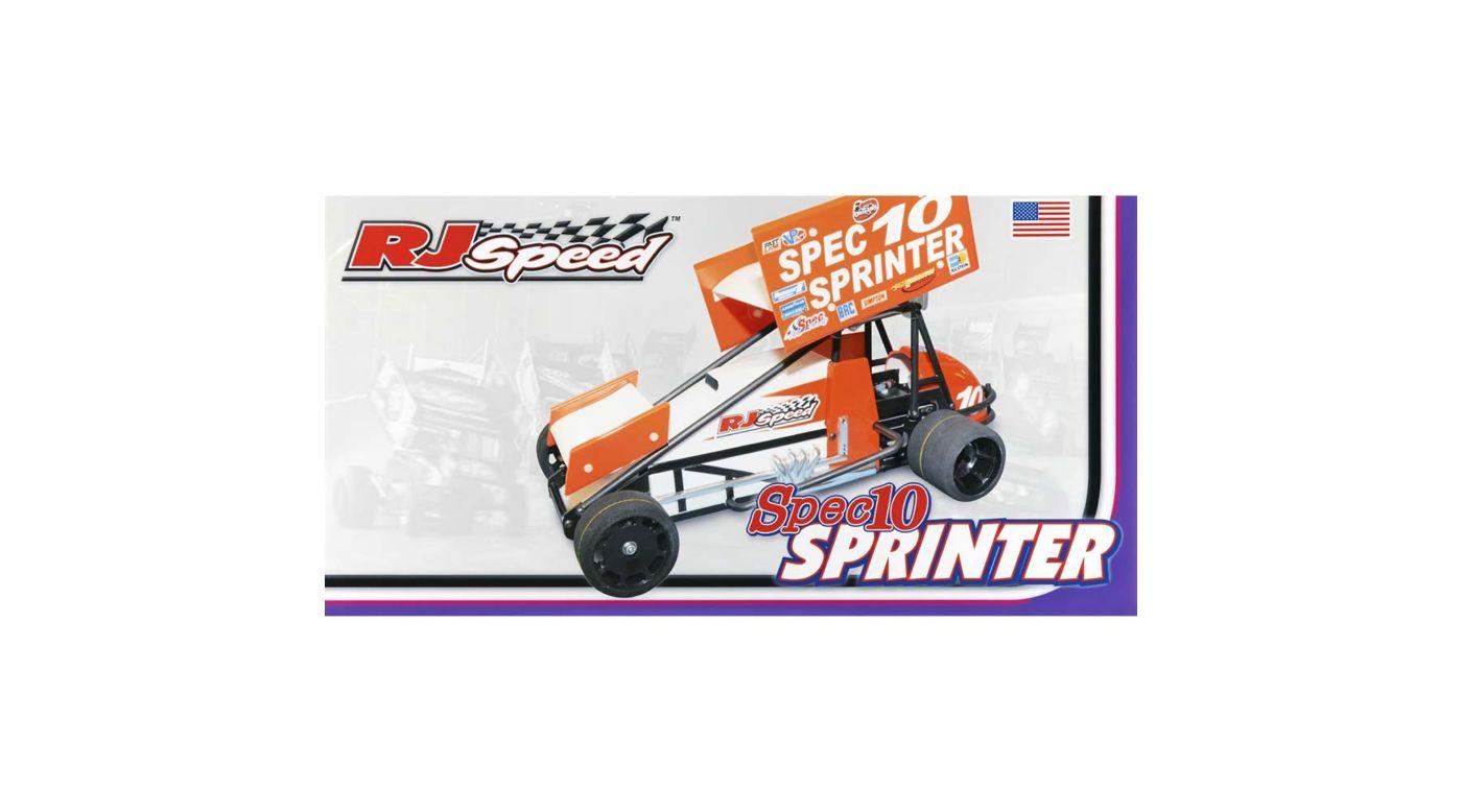 Image for 1/10 Electric Spec10 Sprinter Sprint Car Kit from HorizonHobby