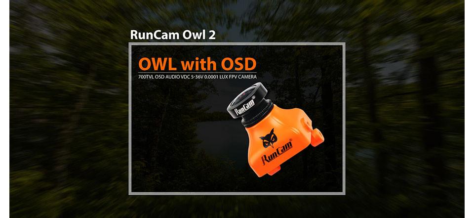 RunCam FPV camera Owl2