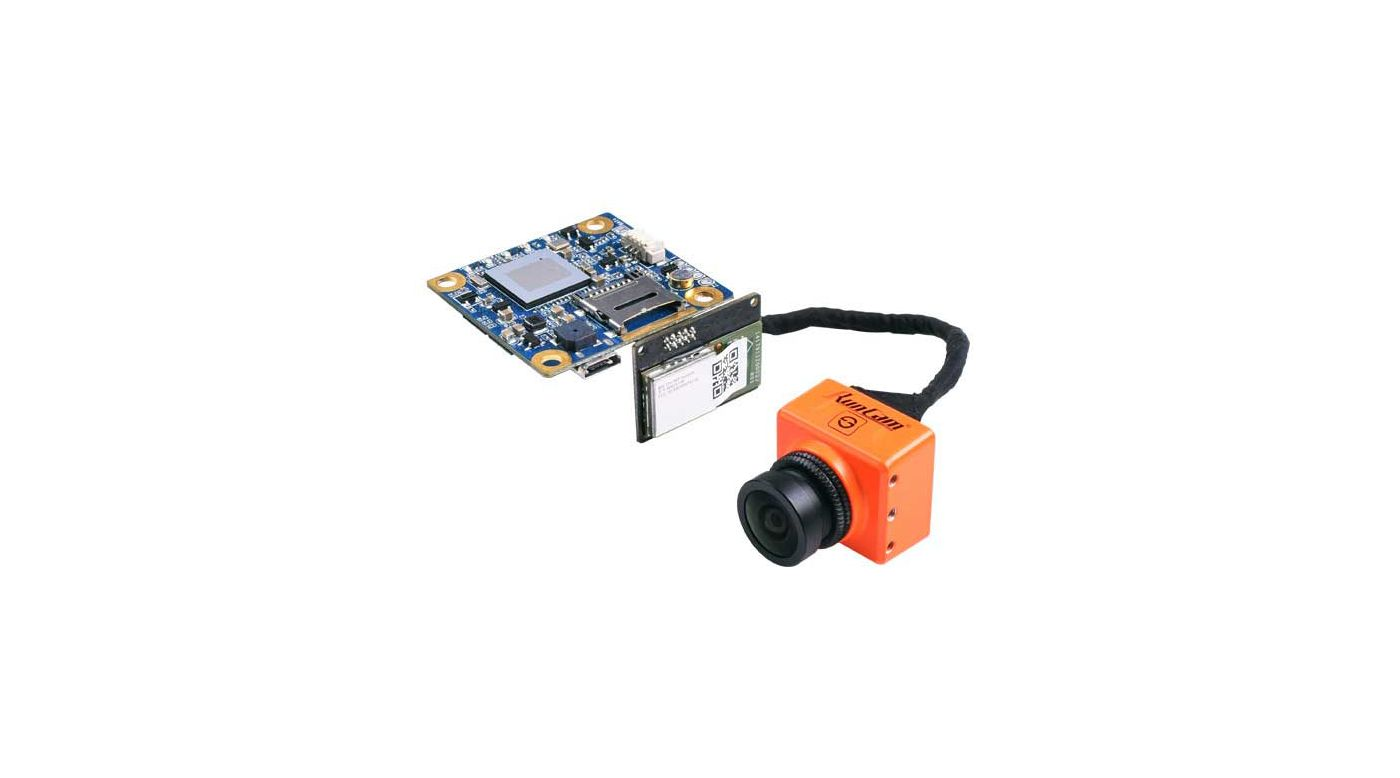 Split FPV/HD Camera with WIFI Module and RC25G Lens