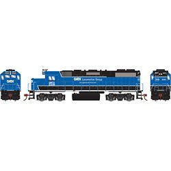 Athearn 12625 HO GP38-2 w/DCC GATX/Black and Blue #2339