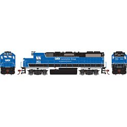 Athearn 12626 HO GP38-2 w/DCC GATX/Black and Blue #2344