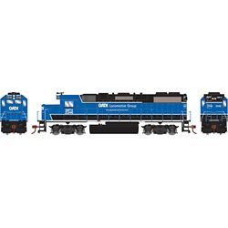 Athearn 12627 HO GP38-2 w/DCC GATX/Black and Blue #2346