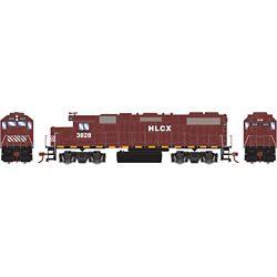 Athearn 12628 HO GP38-2 w/DCC HLCX #3828
