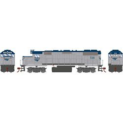 Athearn 12634 HO GP38-2 w/DCC Amtrak #724