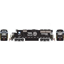 Roundhouse 12654 HO GP59 w/DCC Norfork Southern NS/OLS #4637