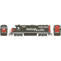 Roundhouse 12656 HO GP60 w/DCC Southern Pacific SP #9724