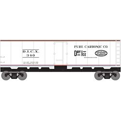 Roundhouse 2195 HO 40' Steel Reefer DICX #340