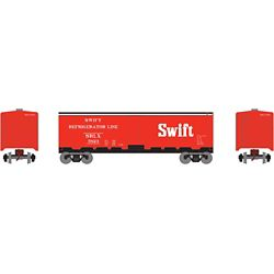 Roundhouse 2269 HO 40' Steel Reefer Swift #5823
