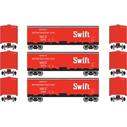 Roundhouse 2270 HO 40' Steel Reefer Swift (3)