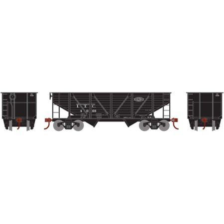 Roundhouse 70901 HO 34' 2-Bay Hopper w/Coal Load, ITC #4068 RND70901