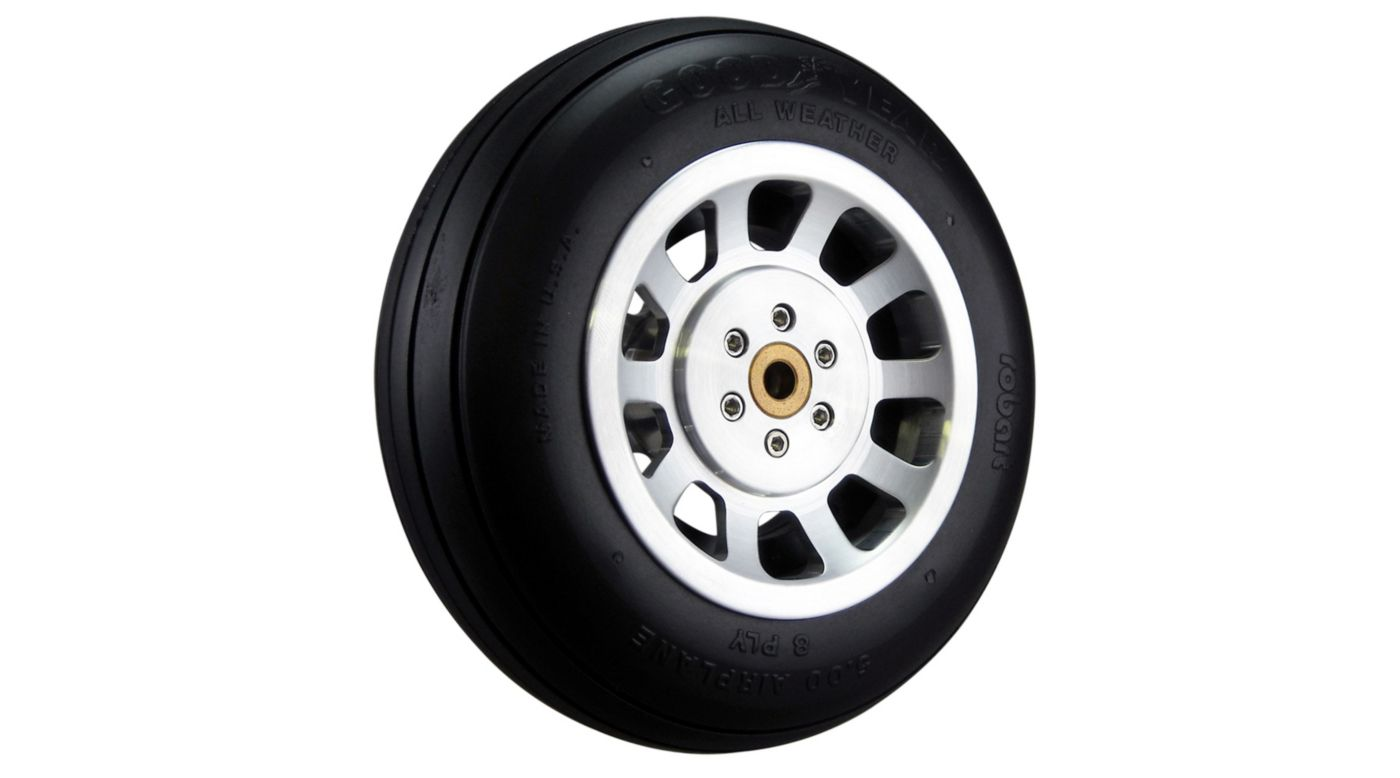 Image for Scale P-51 Aluminum Wheel 5